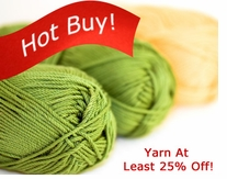 Sale Yarn At Least 25% Off