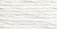 DMC Brilliant Cotton Tatting Thread Snow White