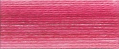 DMC Brilliant Cotton Tatting Thread Variegated Baby Pink - Click to enlarge