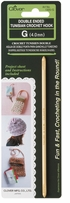Double Ended Tunisian Crochet Hook G6 4.0mm