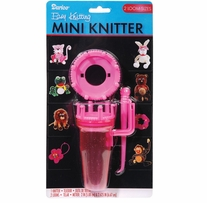 Easy Knitting Mini Knitter W/Two Looms Assorted Colors