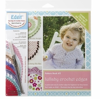 Edgit Piercing Crochet Hook & Book Set Lullaby Crochet Edges