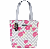 Everything Mary Chevron Roses Yarn Tote