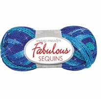 Mary Maxim Fabulous Sequins Yarn