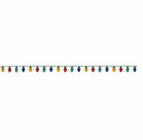 Feltworks Christmas Lights Garland
