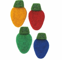 Feltworks Christmas Lights Garland-2X60