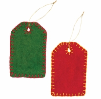 Feltworks Embellishments Gift Tags