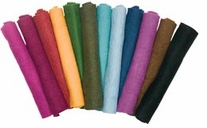 Feltworks Flat Felt Rolls 12inX12in Midnight Blue