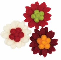 Feltworks Flower Small Pointsettias