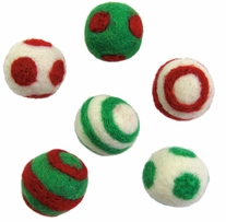 Feltworks Holiday Balls