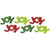 Feltworks Laser Cut Joy Green, Lime & Red