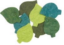 Feltworks Leaves 8/Pkg