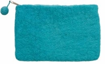 Feltworks Mini Purse Turquoise 6inX4inX1/2in