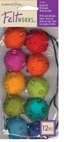Feltworks Multi Bead Jewelry Kit Assorted Brights