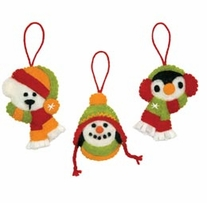 Feltworks Needlecrafts Holiday Smiles