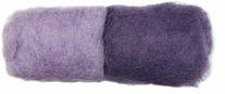 Feltworks Roving .25 Ounces Lilac/Eggplant