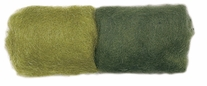Feltworks Roving .25 Ounces Olive/Dark Olive