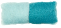 Feltworks Roving .25 Ounces Seafoam/Dark Aqua