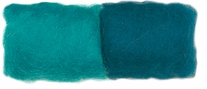 Feltworks Roving .25 Ounces Turquoise/Teal