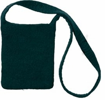 Feltworks Shoulder Bag 10inX7 1/4inX1in Black