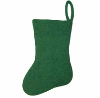 Feltworks Stocking Green Stocking