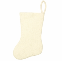 Feltworks Stocking White Stocking