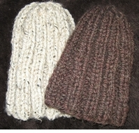 Free Knitting Pattern Man's 2 Hour Beanie