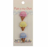 Fun In The Sun Buttons Single Scoop