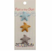Fun In The Sun Buttons Starfish