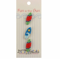 Fun In The Sun Buttons Surfboards