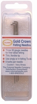Gold Crown Felting Needles Size 38
