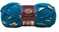 Lion Brand Gold Leaf Yarn