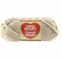 Red Heart Grande Metallic Yarn