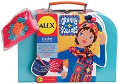 Granny Squares Crochet Kit - Click to enlarge
