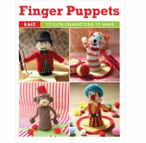 Guild Of Master Craftsman Books Knitted Finger Puppets