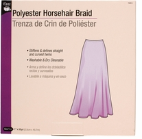 Horsehair Braid White
