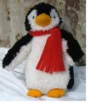Huggables Penguin Stuffed Animal Latch Hook Kit