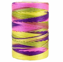 Iris Nylon Crochet Thread Bright Pastel Mix Size 18 197yd