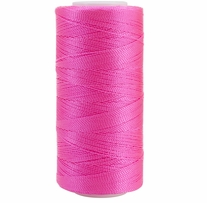 Iris Nylon Crochet Thread Bright Pink Size 2 300yd
