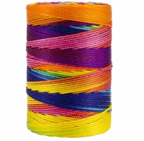 Iris Nylon Crochet Thread Fiesta Mix Size 18 197yd