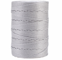 Iris Nylon Crochet Thread Gray Size 18 197yd