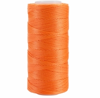 Iris Nylon Crochet Thread Neon Orange Size 2 300yd