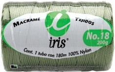 Iris Nylon Crochet Thread Size 18 197 Yards - Click to enlarge