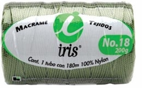 Iris Nylon Crochet Thread Size 18 197 Yards