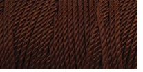 Iris Nylon Crochet Thread Chocolate Brown Size 2 300yds (275m)