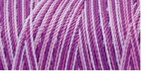 Iris Nylon Crochet Thread Purples Print Size 2 300yds (275m)