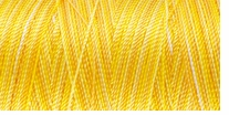 Iris Nylon Crochet Thread Yellow Mix Size 2 300yd