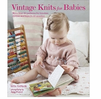 Jacqui Small Books Vintage Knits For Babies