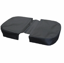 JanetBasket Black Large Basket Cover Black