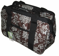 JanetBasket Blue Floral Eco Bag 18inX10inX12in